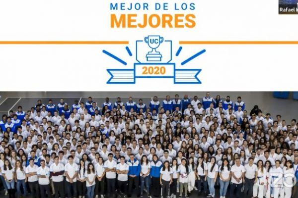Dos alumnos de Odontología UC fueron premiados como deportistas destacados del 2020